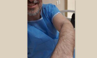 Στο νοσοκομείο Έλληνας ηθοποιός- Η πρώτη του ανάρτηση μετά το χειρουργείο και το μήνυμά του