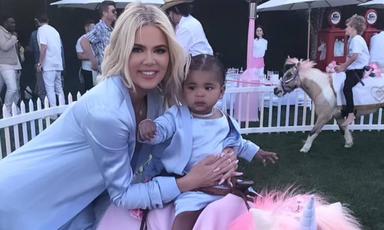 Khloe Kardashian: Το πάρτι υπερπαραγωγή της κόρης της True ήταν το καλύτερο των Kardashians (pics)