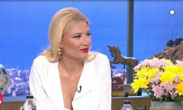 Η Σκορδά αποκάλυψε το μυστικό της on air - Έτσι έχει κορμί «λαμπάδα»