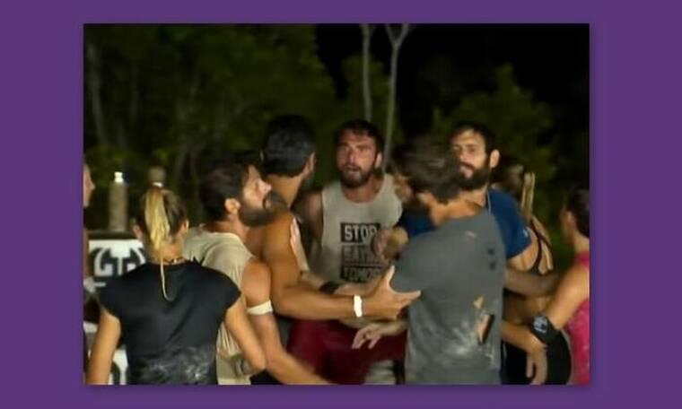 Survivor: «Έπεσε ξύλο» - Πιάστηκαν στα χέρια οι παίκτες - Τι συνέβη με Ατακάν και Δαλάκα; (video)