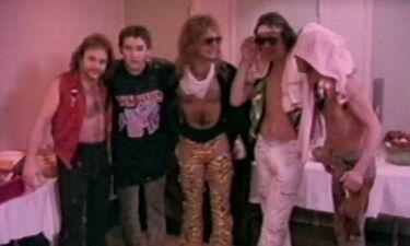 Θαυμαστής των Van Halen βγάζει στη φόρα όσα έζησε ένα Σαββατοκύριακο με τα μέλη της μπάντας