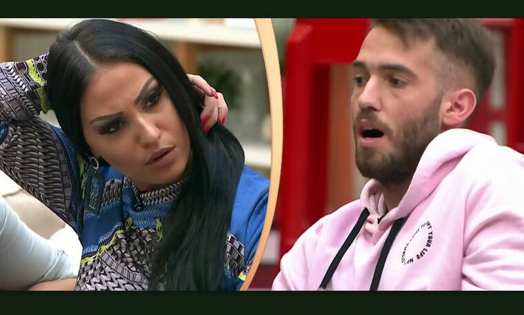 Power of love: Ενοχλημένος ο Βασίλης με την Ρένια: «Επηρεάζεις αρνητικά την Ζένια για μένα»