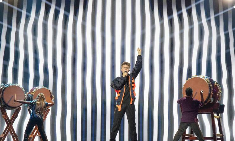 Eurovision 2019: Βέλγιο: Ο Eliot έδωσε τον ρυθμό με τα τύμπανα (photos+video)