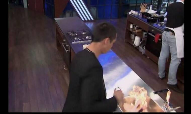 MasterChef: Φωτιά στην κουζίνα του ριάλιτι μαγειρικής (video)