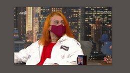 Δεν θα πιστεύετε τι έκανε ο Sin Boy στο πλατό του The 2night Show και γιατί φορούσε μάσκα! (video)