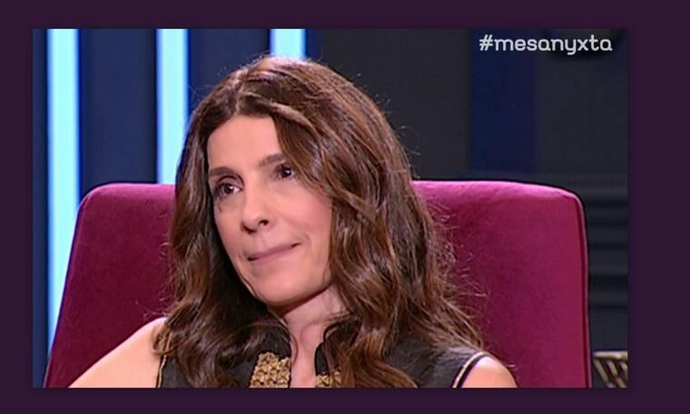 Πόπη Τσαπανίδου: «Λύγισε» οn air – Tα δάκρυα για τον πατέρα της (video)