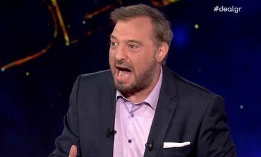 Δεν το πίστευε ούτε ο Φερεντίνος: Επεισόδιο για γερά νεύρα - «Εμφράγματα» στο πλατό του Deal (video)