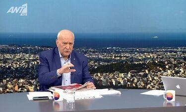 Η οργή του Γιώργου Παπαδάκη: «Κάθαρμα θα σου κάνω μήνυση»  (Video)