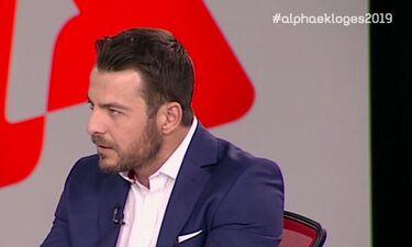 Εκλογές 2019: Ο Ντάνος είναι παντού - Τώρα και στο εκλογικό πάνελ του ALPHA (video)