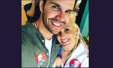 Eκλογές 2019: O Τσαλίκης μάλλον εκλέχθηκε και η σύζυγός του ήταν απόλυτα χαρούμενη (photos)