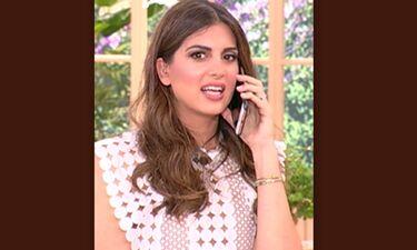 Σε αμηχανία η Τσιμιτσιλή! Το τηλεφώνημα που δέχτηκε on air και οι εξηγήσεις! (Video)