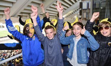 Γενέθλια στο γήπεδο για μικρούς φίλους της «Κερkidα ΟΠΑΠ» – Ποδοσφαιρικό πάρτι στη σουίτα του ΟΑΚΑ