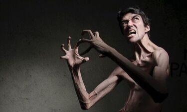 Άνθρωπος-τέρας στο Hollywood (photos)