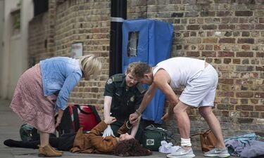 Τζέισον Ντόνοβαν: Βοήθησε γυναίκα που κατέρρευσε στο δρόμο (Photos)