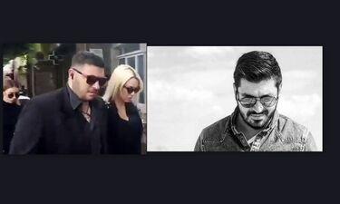 Κηδεία Ζάρλα: Στέλλα Μιζεράκη: Συντετριμμένη και με σκυμμένο κεφάλι στο τελευταίο «αντίο» (Video)