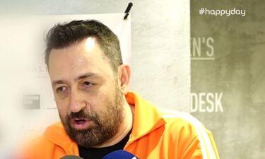 Happy Day: Θέμης Γεωργαντάς: Αποκάλυψε αν το After Dark θα συνεχιστεί (video)