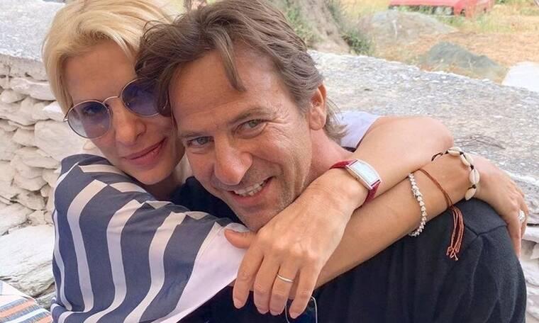 Ελένη Μενεγάκη: Το πιο τρυφερό δώρο της Μαρίνας στον μπαμπά της Μάκη Παντζόπουλο! (Photos)