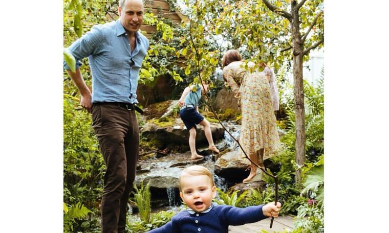 Να ποιες φωτογραφίες δημοσίευσε ο William για τη γιορτή του πατέρα!