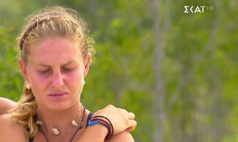 Survivor: Άλλη μία απογοήτευση για τη Δαλάκα - Τα δυσάρεστα νέα που της μετέφερε ο Σάκης (video)