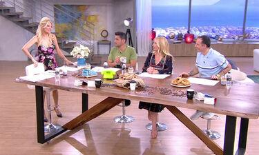 Το πρωινό: Με πυρετό η Φαίη Σκορδά στο πλατό – Το πρόβλημα υγείας που την ταλαιπωρεί (Video)