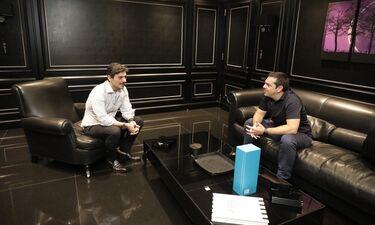 Ο Αλέξης Τσίπρας στην DPG DIGITAL MEDIA και το CNN Greece