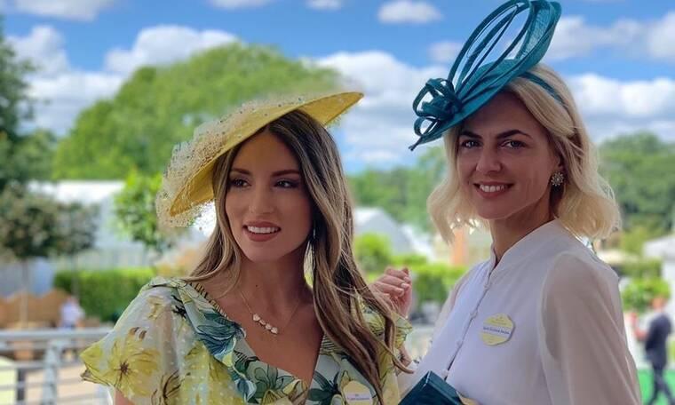 Αθηνά Οικονομάκου-Χριστίνα Κοντοβά: Όταν συνάντησαν τη βασίλισσα Ελισάβετ! (Photos+Videos)