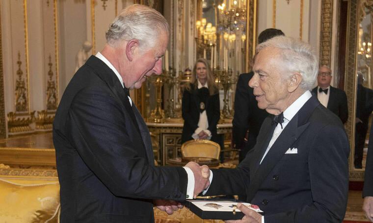 Ο Ralph Lauren τιμήθηκε από τον Πρίγκιπα Κάρολο