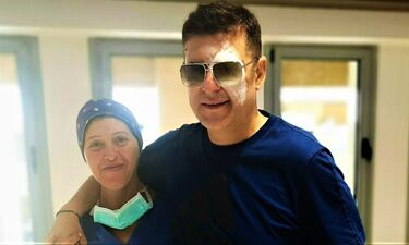 Χρίστος Αντωνιάδης: Η φωτό από το νοσοκομείο μετά την επέμβαση και οι πρώτες δηλώσεις (exclusive)