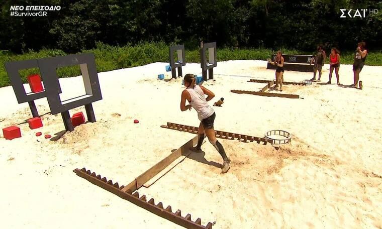 Survivor: Αυτή η ομάδα κέρδισε το πρώτο παιχνίδι ασυλίας (video)