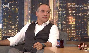 The 2Night Show: Κρατερός Κατσούλης: «Είχα πολύ σοβαρό πρόβλημα με την υγεία μου. Πήρα γερό μάθημα»