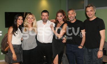 Θέατρο Άλσος - Το δικό μας σινεμά: Η Δέσποινα Βανδή υποδέχθηκε καλούς φίλους στο καμαρίνι (photos)