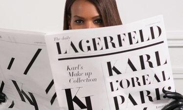 Η πολυαναμενόμενη συλλογή μακιγιάζ του Karl Lagerfelf έρχεται το Σεπτέμβρη από τη L'Oréal Paris