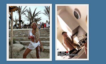 Ιωάννα Τούνη: Έβαλε τον σύντροφό της να πλύνει πιάτα (video)