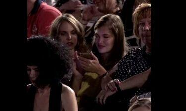 Στη Φωλιά των Κου Κου: Κλέλια Ανδριολάτου: Στην πρεμιέρα του πρώην της, Ρένου Ρώτα (video)