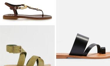 Shopping Guide: Ψάχνεις για σανδάλια; Αυτά τα 8 σχέδια θα σ' ενθουσιάσουν