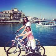 Με τα ποδήλατα στις Σπέτσες