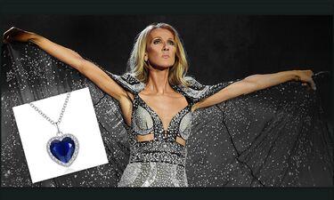 Celine Dion: Κι όμως φόρεσε το διαμάντι του «Τιτανικού» σε δημόσια εμφάνισή της (photos)