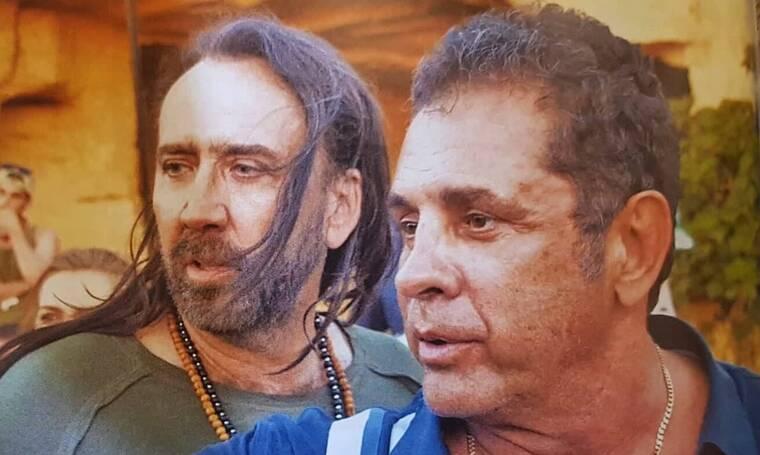 Nicolas Cage: Είναι στην Κύπρο και έχει μετατρέψει το νησί σε… χολιγουντιανά στούντιο! (photos)