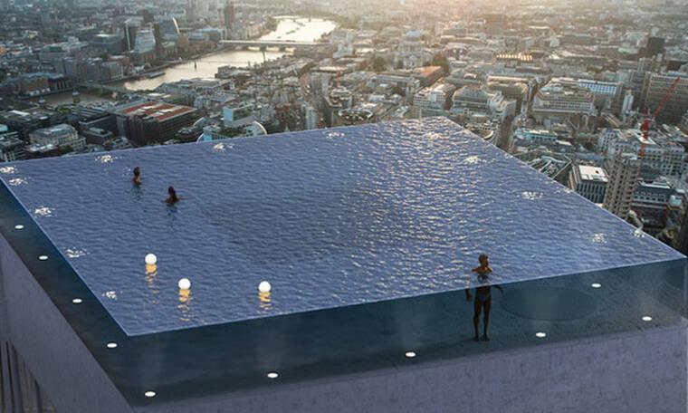 Το Λονδίνο ετοιμάζεται για την πρώτη πισίνα με θέα 360 μοιρών!