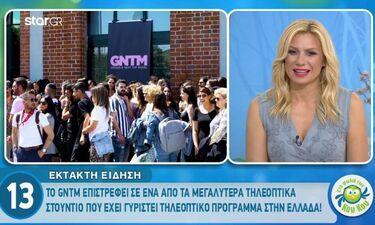 Το GNTM επιστρέφει σε ένα από τα μεγαλύτερα τηλεοπτικά στούντιο στην Ελλάδα! (video)