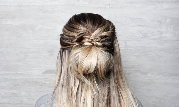 Χτενίσματα για να έχεις τα μαλλιά σου κάτω ακόμα και στον καύσωνα