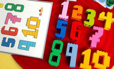 DIY Κατασκευή που θα βοηθήσει τα παιδιά σας να μάθουν τους αριθμούς (vid)