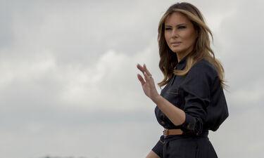 Η Melania Trump απέκτησε ένα άγαλμα πολύ διαφορετικό από τα συνηθισμένα