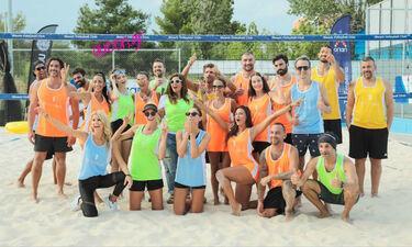 Όλα όσα έγιναν στον Celeb αγώνα Beach Volley της W.I.N. Hellas (Γράφει αποκλειστικά η Majenco στο Queen.gr)