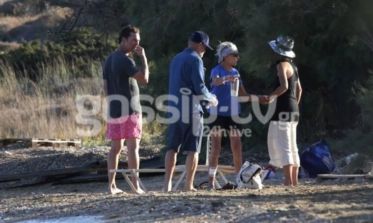 McConaughey - Alves: Δεύτερο καλοκαίρι στην Ελλάδα – Το άλμπουμ των διακοπών τους (Photos)
