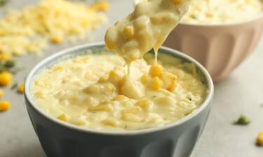 Απίθανο Creamed corn από τον Γιώργο Τσούλη