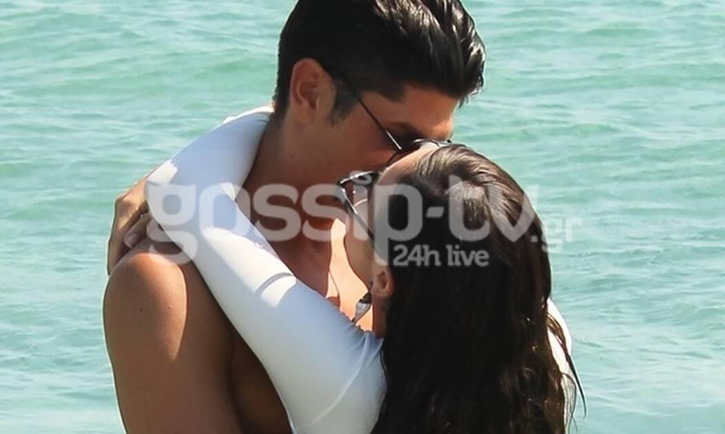 Τα καυτά φιλιά τους στη Μύκονο! (photos)