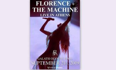 Florence + The Machine:  Είναι επίσημο! 3η και τελευταία συναυλία