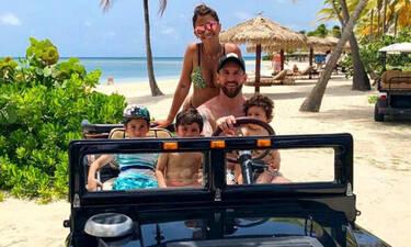 Χλιδάτες διακοπές στην Καραϊβική κάνει ο Μέσι - Αυτή είναι η βίλα που διαμένει (pics)