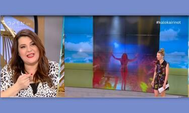 Στικούδη: Το απίστευτο σχόλιο on air της Ζαρίφη για την εκρηκτική εμφάνιση της τραγουδίστριας!
